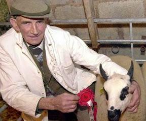 Death of leading sheep breeder