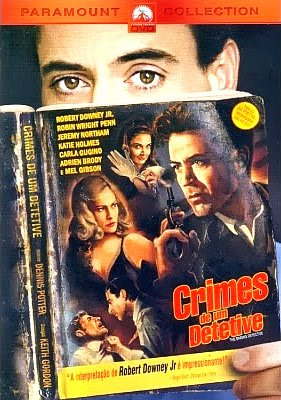 Filme Poster Crimes de Um Detetive DVDRip XviD & RMVB Dublado