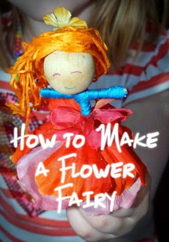 How to Make a Flower Fairy