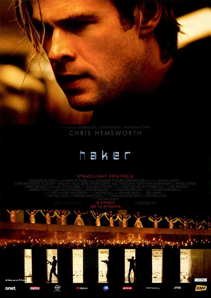 Ulotka filmu 'Haker (przód)'