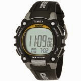 Timex Ironman 100-Lap Flix Digital Watch - Men's (BlackSilverYellow)
