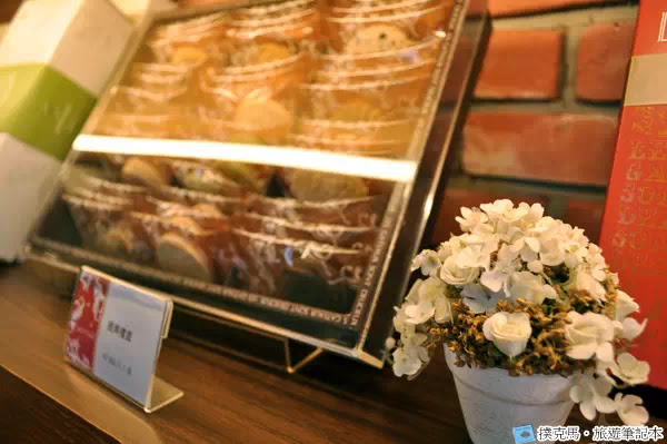 富林園洋菓子裝飾的花