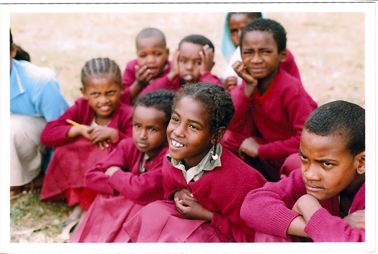 Young Ethiopian children. Photo by Graham Peebles