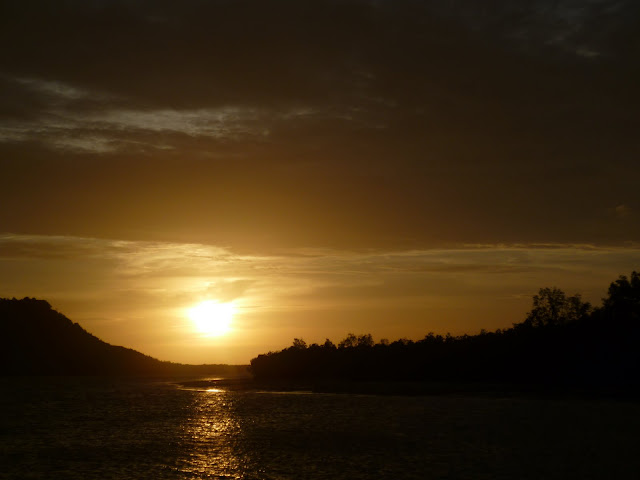 Sun set from the Ko Lanta ferry
