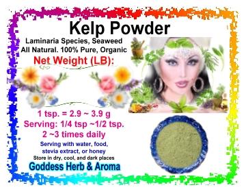 how to take kelp powder