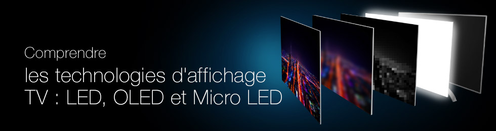 Understand LED, OLED and Micro LED TV technologies