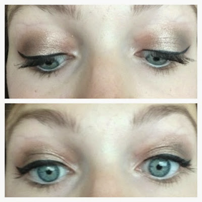 wedding guest eye makeup look