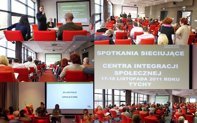 Spotkanie sieciujące Centra Integracji Społecznej.