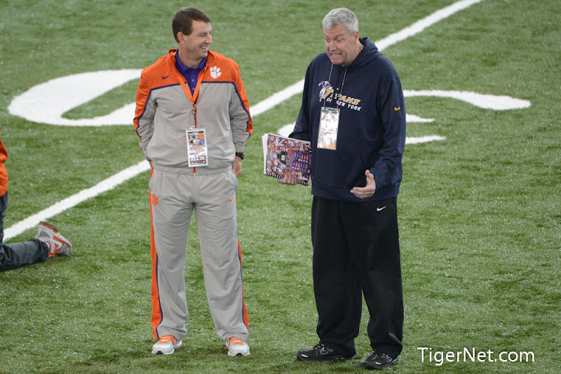 Pro Day Photos - 2013, Dabo Swinney, Football, Pro Day, Rex Ryan