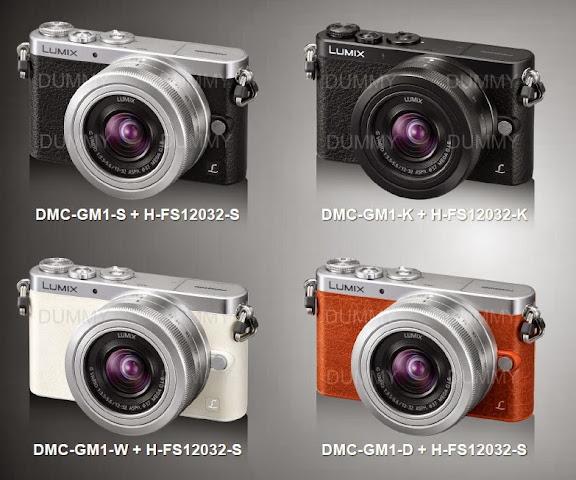 Panasonic Lumix GM1 - L'hybride le plus compact du marché Couleurs