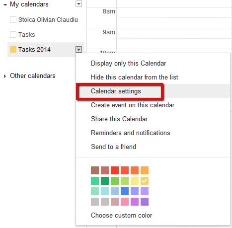 add google calendar to web form