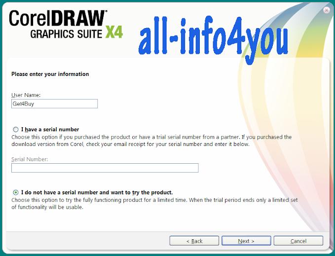 Cara Install CorelDraw X4