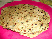Healthy Food Recipes: Methi paratha