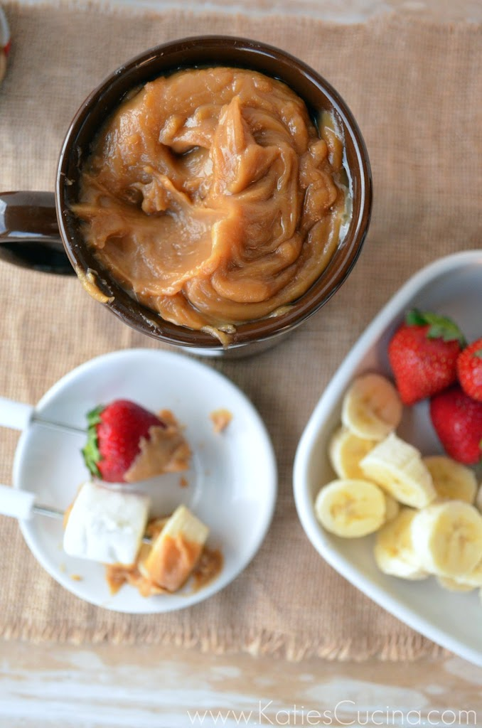2 Ingredient Biscoff Fondue