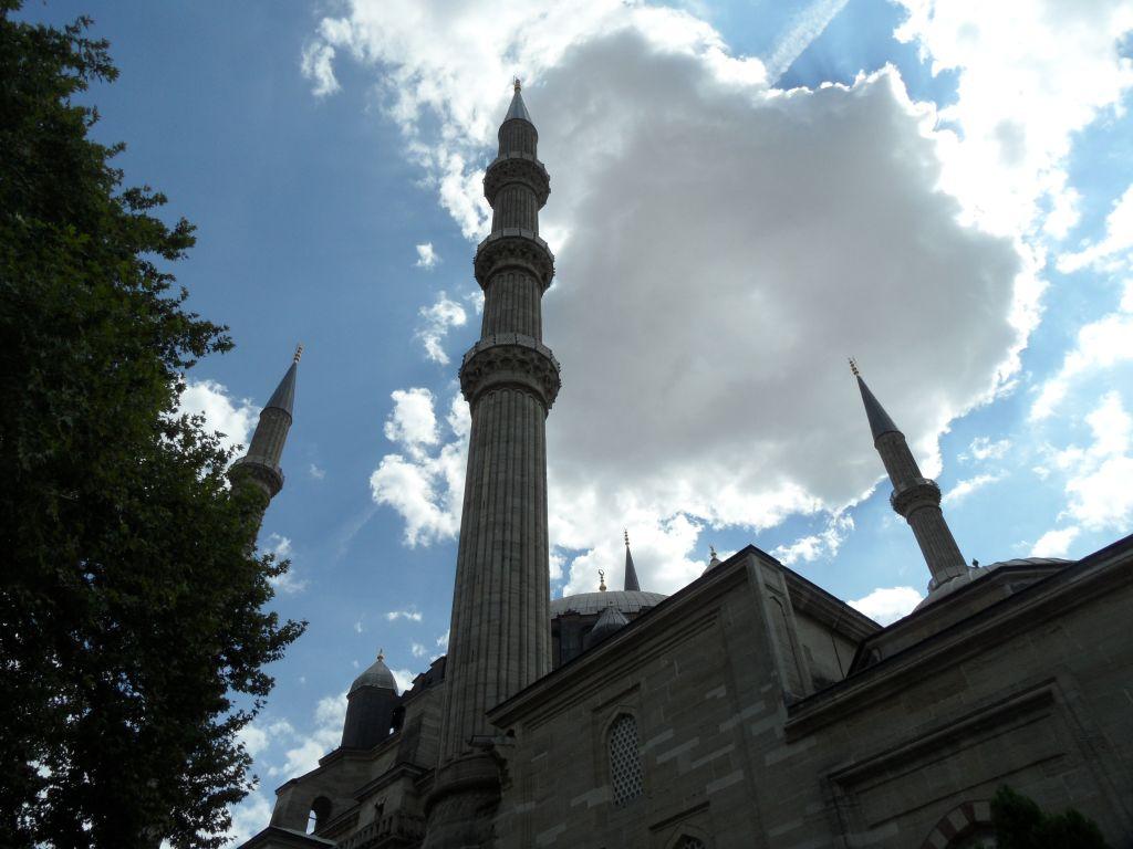 Edirne, Selimiye Camii Minareleri