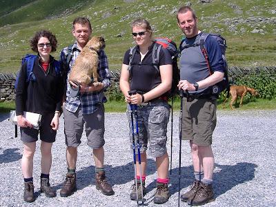 Bill & Rachel White, Harriet Cheesebough & Ian Riding