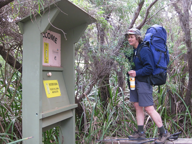 Registration Station - Cape to Cape Track