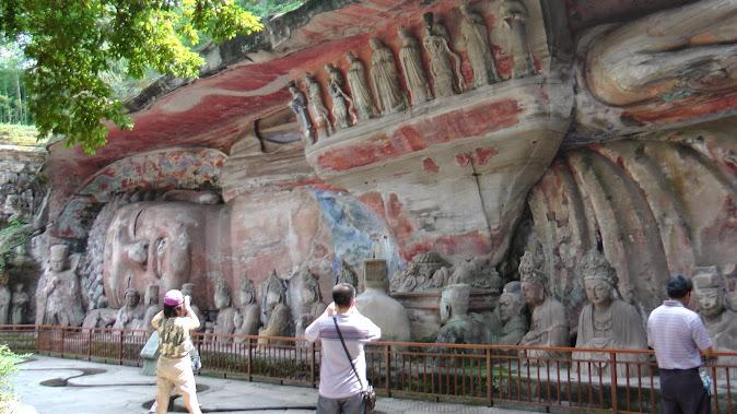 Dazu Grottos (Baoding Shan): Buddha in repose [© BMCL]