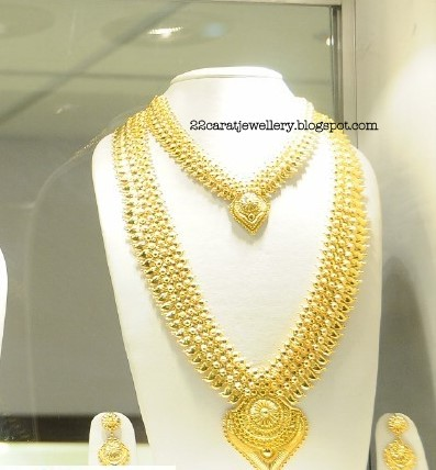 22 Carat Gold Bridal Jewellery Designs