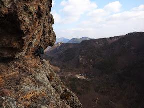 선운산 도솔암-천마봉