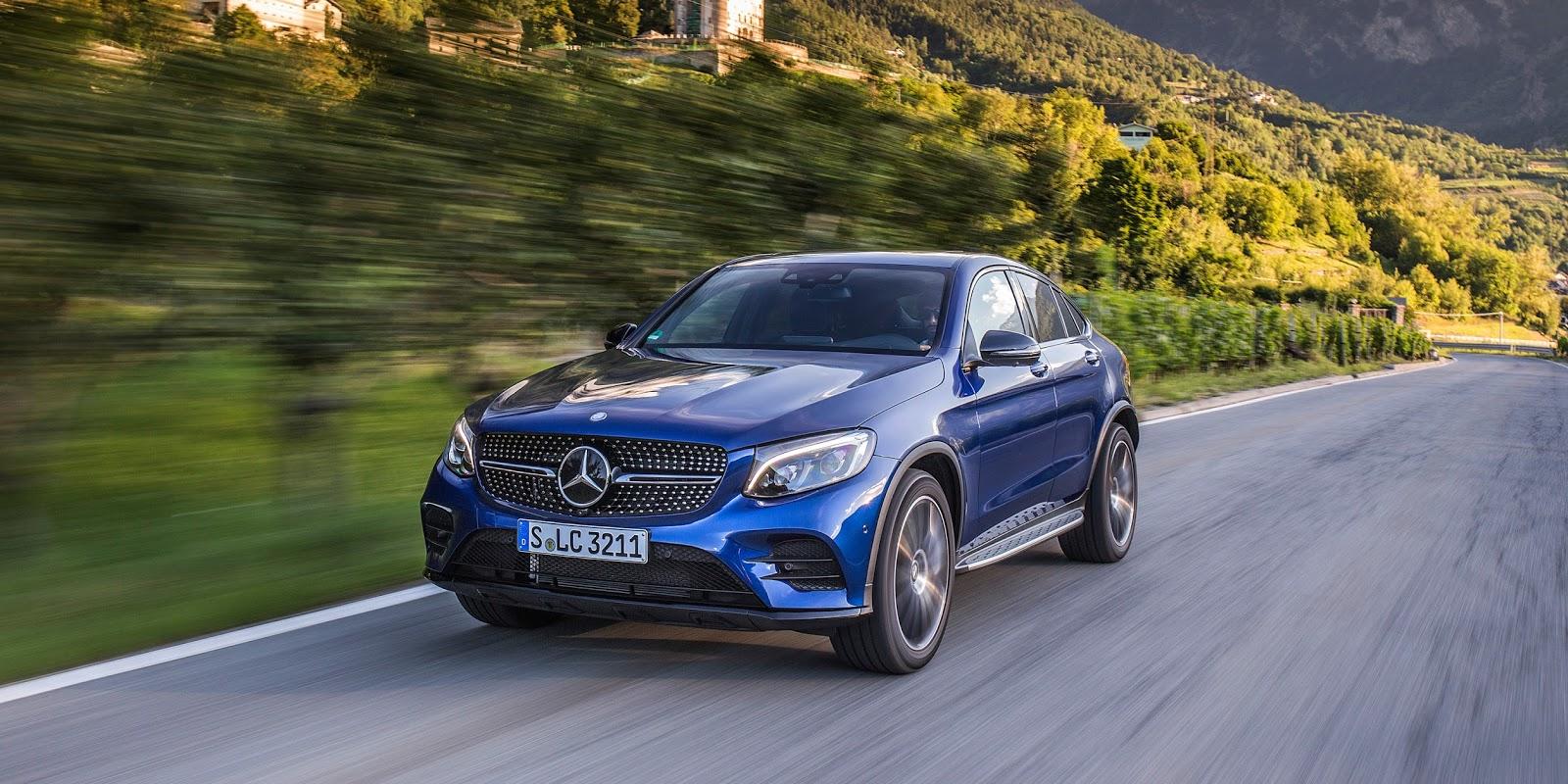 Mercedes Benz quá nhạy bén với Mercedes Benz GLC Coupe 2017