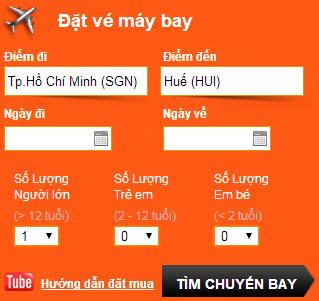 Đặt vé máy bay đi Phú Quốc online