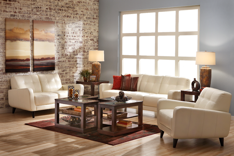 Our Italian Leather Vero Beach Sofa Group Combines Versatility With Mid Centu