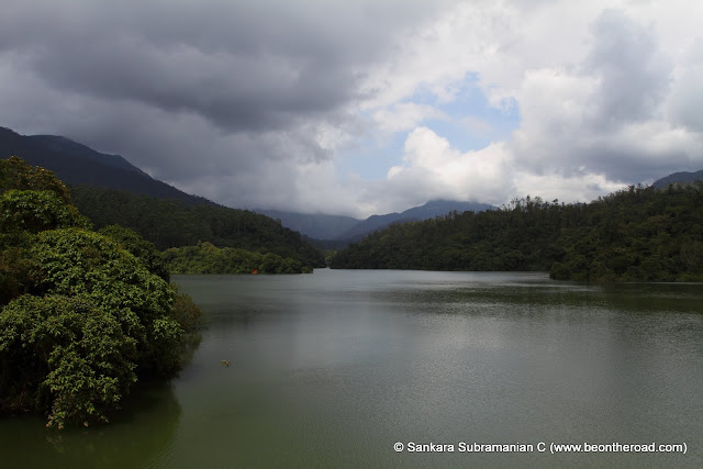 A cloudy afternoon at Nirar Dam, Valparai