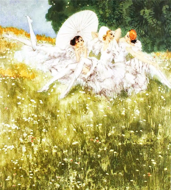 Louis Icart - Summer Dreams