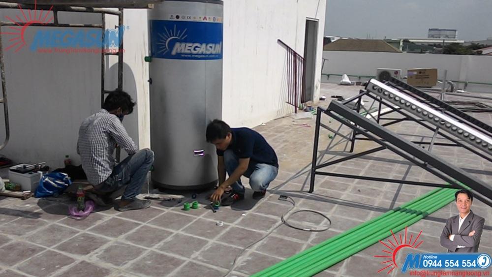 Bồn bảo ôn dùng cho bơm nhiệt và hệ thống máy nước nóng tập trung