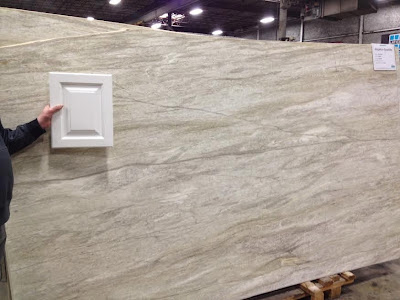 Nice Leathered/Brushed Quartzite Countertop