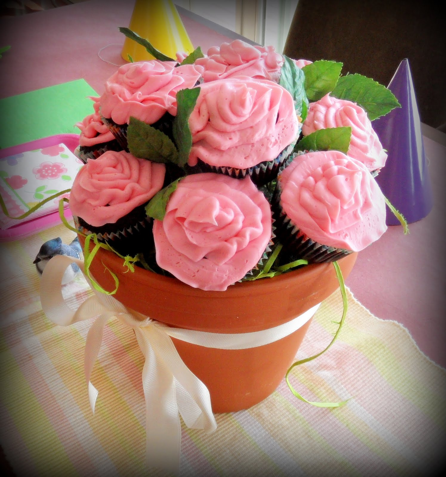 Flower Pot Cupcakes Gladly Gluten Free