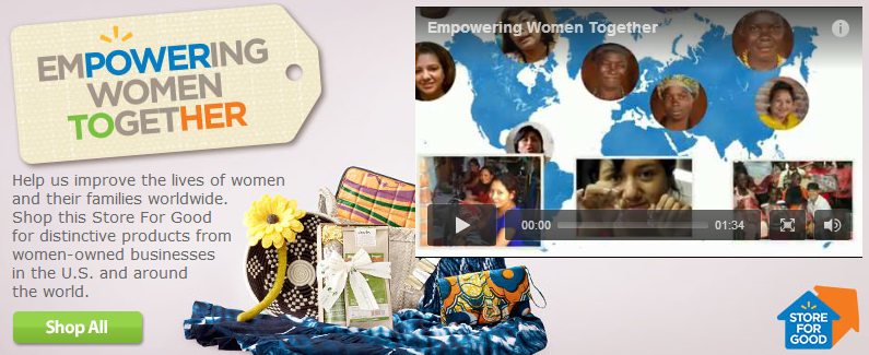 Walmart Launches Empowering Women Together