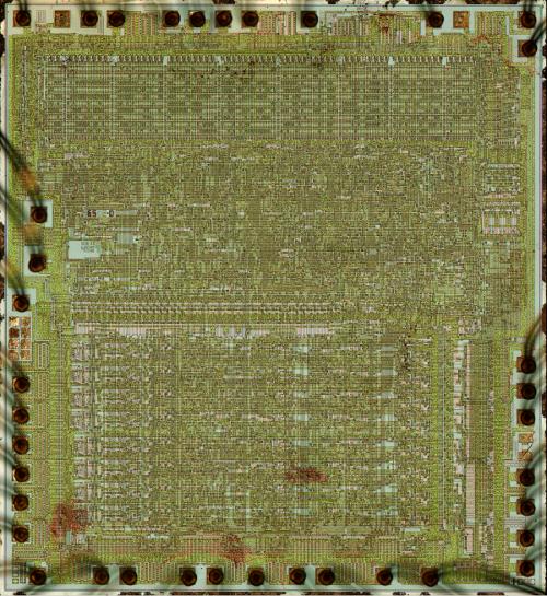 The 6502 processor chip