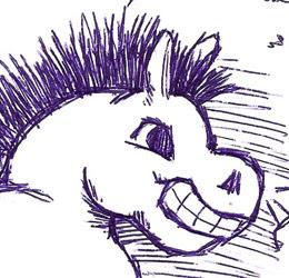 croquis pour PonyGirl