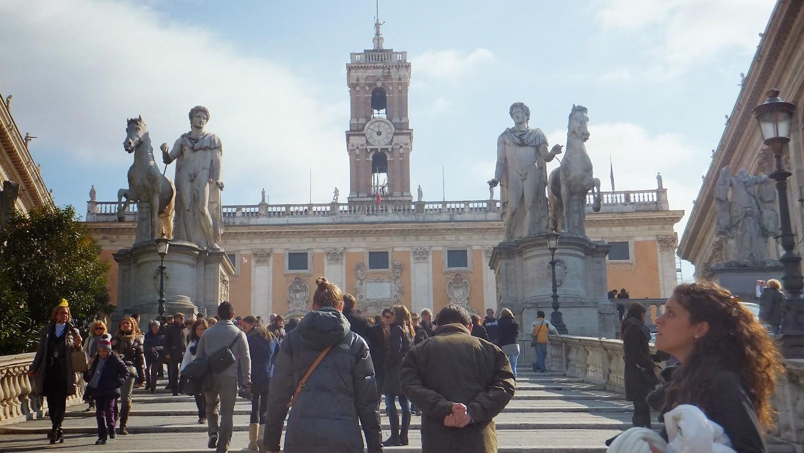 Piazza di Campidoglio, Roma, Italia, Elisa N, Blog de Viajes, Lifestyle, Travel