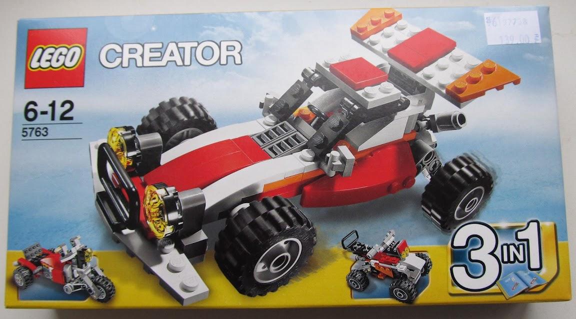 LEGO Дюнохід - упаковка. Вид спереду