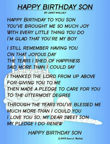 Christian Birthday Poems
