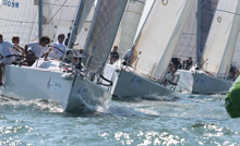 J/109 fleet sailing J-Cup Regatta- United Kingdom/ England