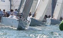 J/109 fleet sailing J-Cup Regatta- United Kingdom/ England