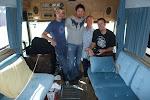 we got a private tour of Johhny Cash's bus