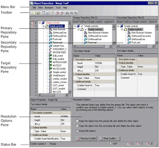 Object Repository Merge tool in QTP