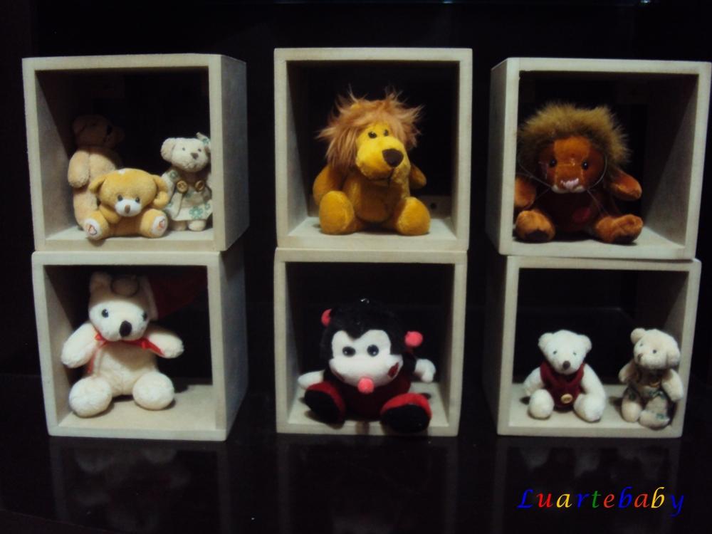 Nicho Para Quarto De Bebe Quadrado ~   Nicho quadrado mdf 15 x 15 cm decora??o quarto de bebe luartebaby