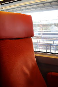 Seat on a Train to Paris