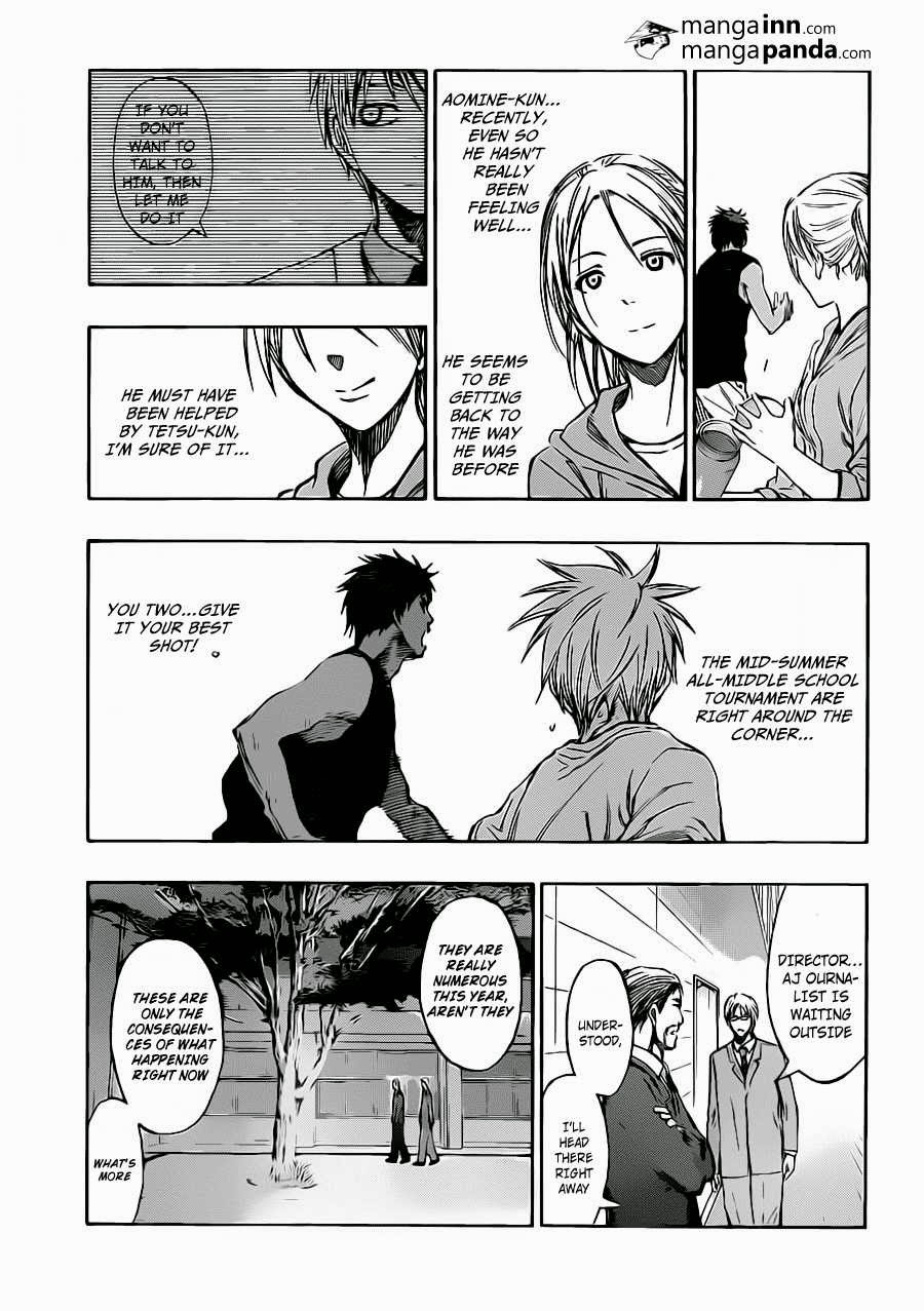 Kuroko no Basket Manga Chapter 215 - Image 05