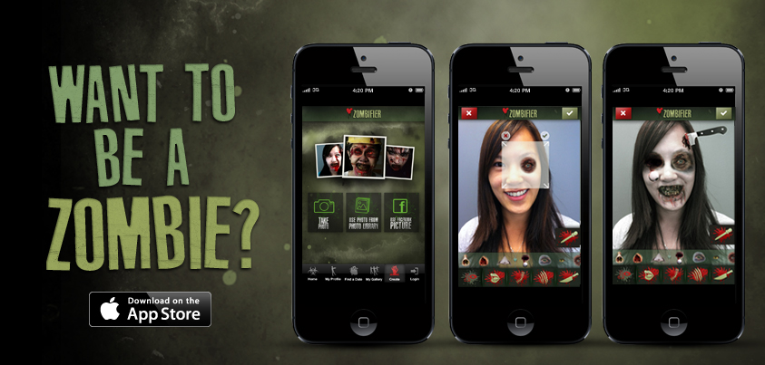 Zombies Find Love with New Mobile Dating App