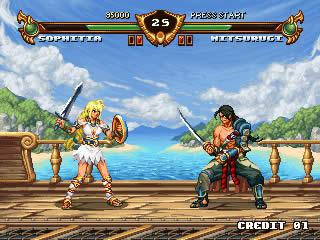 soulcalibur Como seriam os games atuais em versões Java para celular