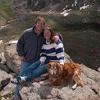 Ken, Becca, and Ilex at Mt. Evans in Colorado