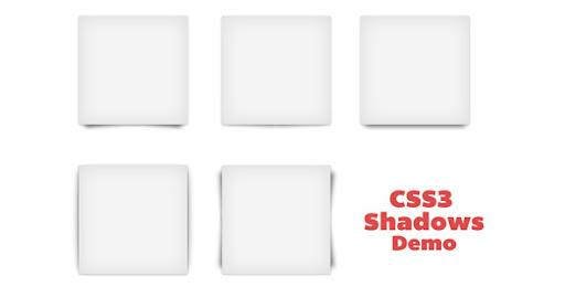 Codecanyon Pure CSS3 Shadows set 1