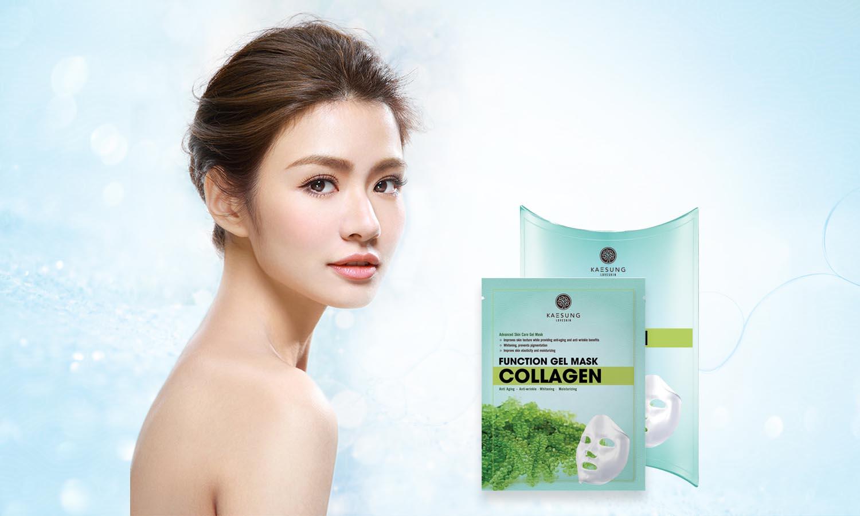 Mặt nạ Collagen Kaesung LoveSkin sẽ giúp cải thiện làn da của bạn